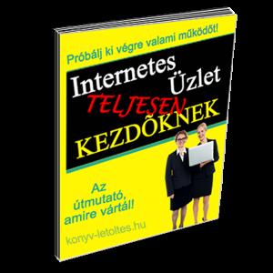 Internetes üzlet kezdőknek Ebook